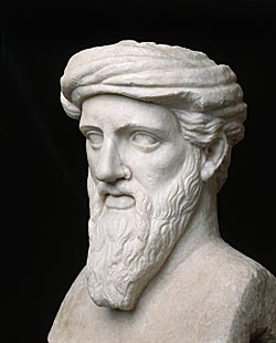 Image result for ancient greek pythagoras