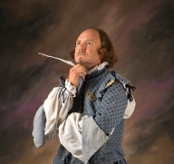 Shakespeare thinking with quill. 2