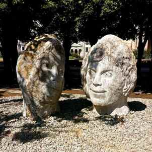 Loving Stones - sculptor James Wheeler, photo Tony Lobl