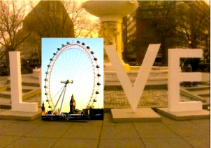 'I Love London', by Tony Lobl