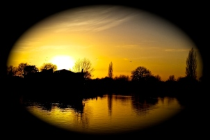 Thames Twilight by Tony Lobl