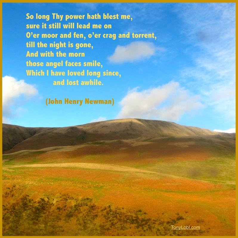 """The distant scene"" by Tony Lobl"
