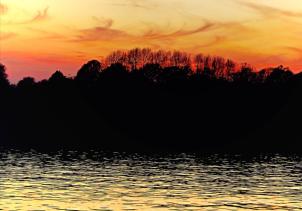 """Thames twilight"" by Tony Lobl"