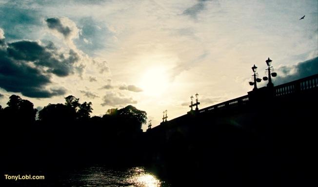 """Kingston Bridge"" by Tony Lobl"