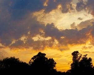 """Cloudy, Cloudy Twilight"" by Tony Lobl"