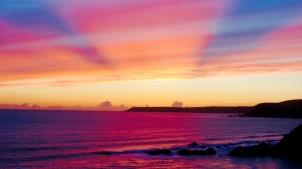%22Purple twilight coast%22 by Tony Lobl